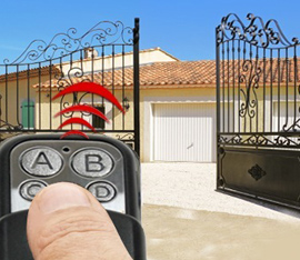 apertura cancello con telecomando
