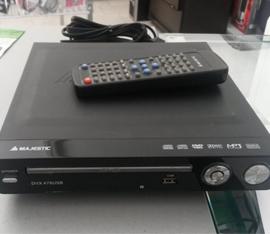 uso del lettore dvd con telecomando